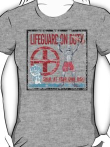 The Lifeguard Creature Is On Duty (2) variant T-Shirt