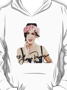 Lana Parrilla Flower Crown T-Shirt