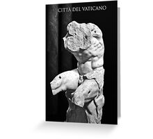 CITTÀ DEL VATICANO Greeting Card