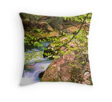 DOGWOOD. Throw Pillow