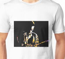 The Lonely Jazz player Unisex T-Shirt