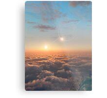 Planet of Kepler 35 Metal Print