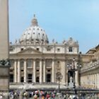 St Peters Square Rome by neilk