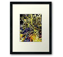 texture 3 Framed Print