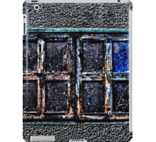 Abandoned Metal Window Fine Art Print iPad Case/Skin