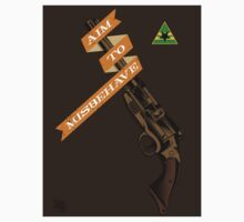 Aim to Misbehave -Stickers by zerobriant