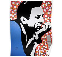 Johnny Cash taking ten Poster