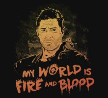 My World is Fire Kids Clothes