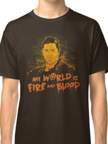 My World is Fire Classic T-Shirt