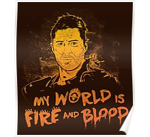 My World is Fire Poster
