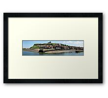 Whitby Harbour, North Yorkshire Framed Print