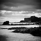 Fingers grasping the shore by clickinhistory