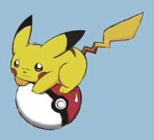 pokemon pikachu pokeball cute anime shirt by JordanReaps