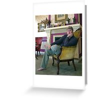 In the Living Room Greeting Card