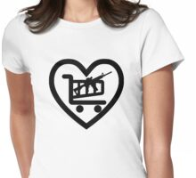 Love Shopping AR15 Womens Fitted T-Shirt