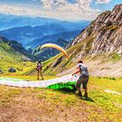 Paragliding by Susan Dost