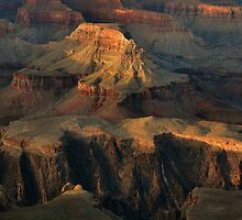 Grand Canyon Light by Stephen Vecchiotti