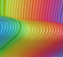 Colorful Slinky by mrthink
