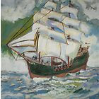 Priate Ship by Newhouser
