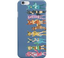 pokemon gijinka cute chibi eevee evolution anime shirt iPhone Case/Skin