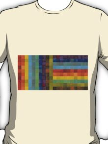 Collage Color Study Sketch T-Shirt