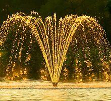 Sun Fountain by mrthink
