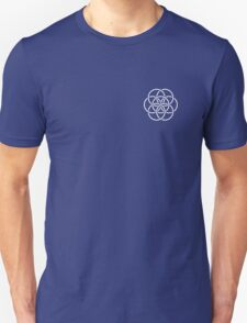 Earth Flag - Embroider Style T-Shirt
