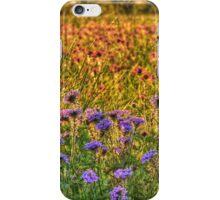 Wild Flower Round Up iPhone Case/Skin