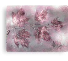 February Amethyst Maples Canvas Print