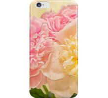 Divine Pink & White Peonies iPhone Case/Skin