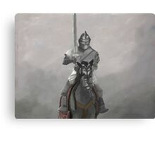 Medieval Knight Canvas Print
