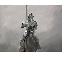 Medieval Knight Photographic Print