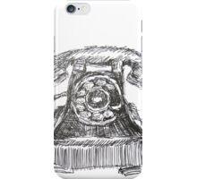 Vintage Telephone iPhone Case/Skin