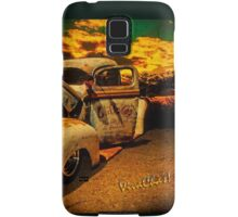 Sunset At The Blanco River Samsung Galaxy Case/Skin