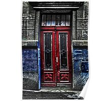 The Old Door Fine Art Print Poster
