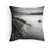 you're living all over me Throw Pillow