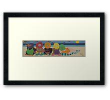wallpainting2 Framed Print