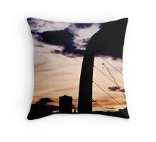 Newcastle Dusk Throw Pillow