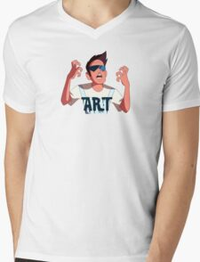 Buck Dewey the Artist Mens V-Neck T-Shirt