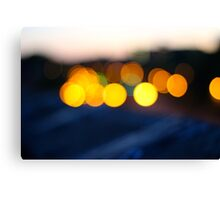 Boston Lights Canvas Print