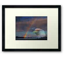 My Pot Of Gold At The End Of The Rainbow Framed Print