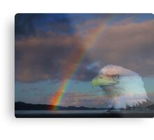 My Pot Of Gold At The End Of The Rainbow Metal Print
