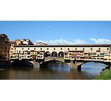 Ponte Vecchio - Florence, Italy Photographic Print