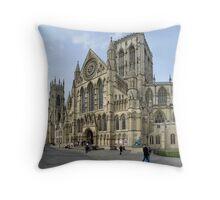 The Minster, York Throw Pillow