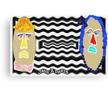MR. AND MRS. POTATO Canvas Print