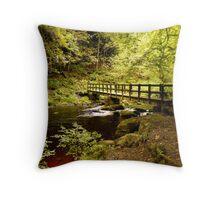 Hebden Water Crossing Throw Pillow