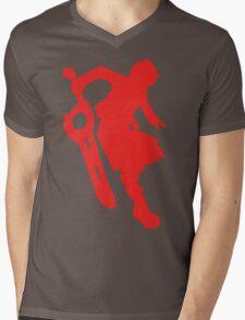 Smash Xeno Red Mens V-Neck T-Shirt