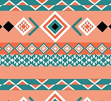 Turquoise Aztec by rayres29