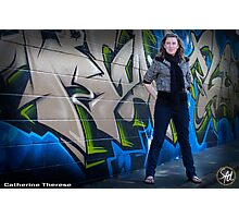 Catherine Grafitti Landscape Photographic Print