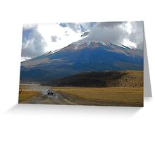 Cotopaxi Rally Greeting Card